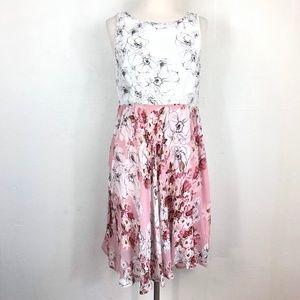 Anthropologie Varun Bahl Floral Sleeveless Dress